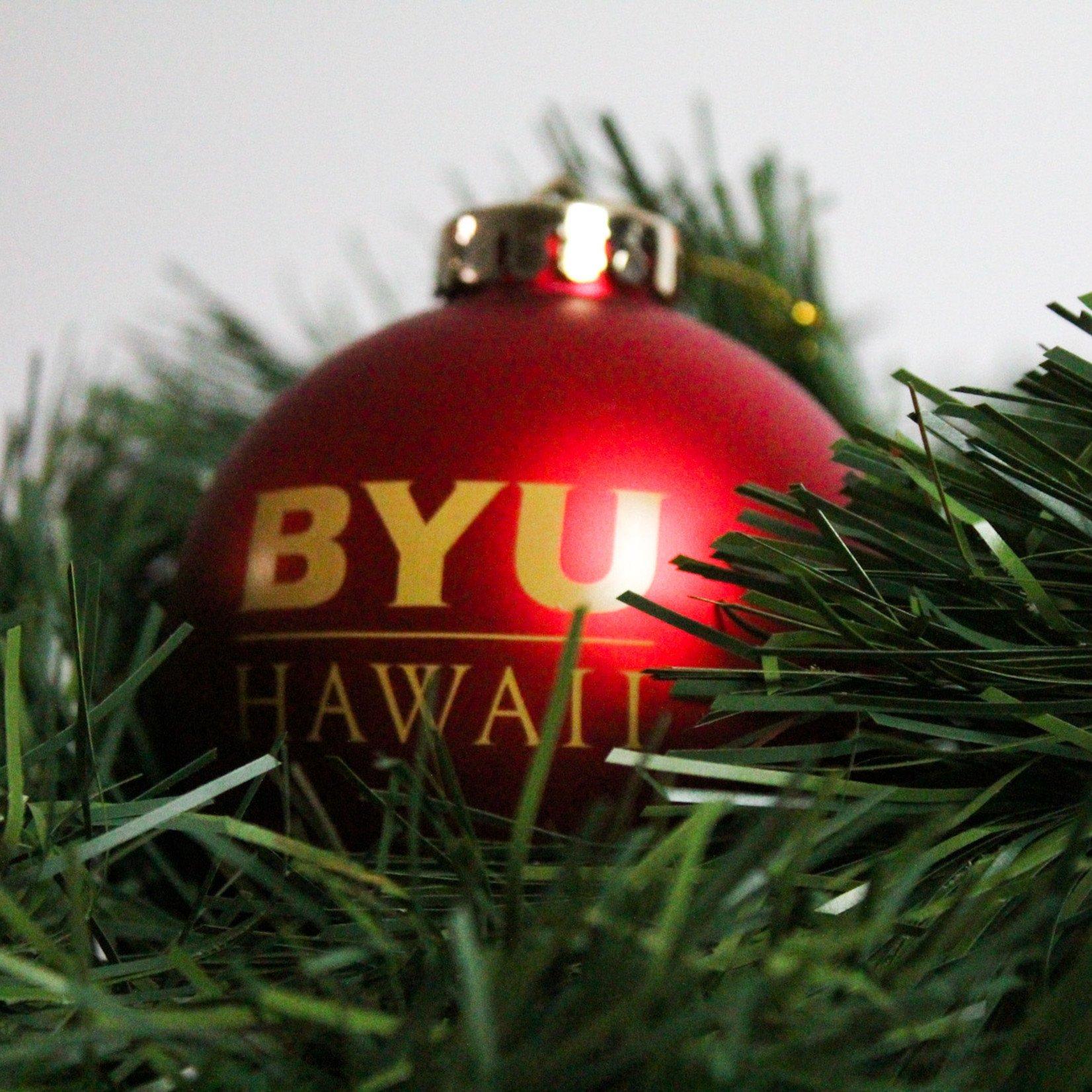 BYUH Shatterproof Ornament