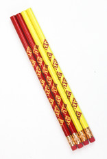 PENCILS IN A PACK OF 4, BYUH LOGO