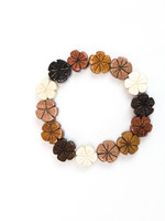 Multi Color Hibiscus Bracelet