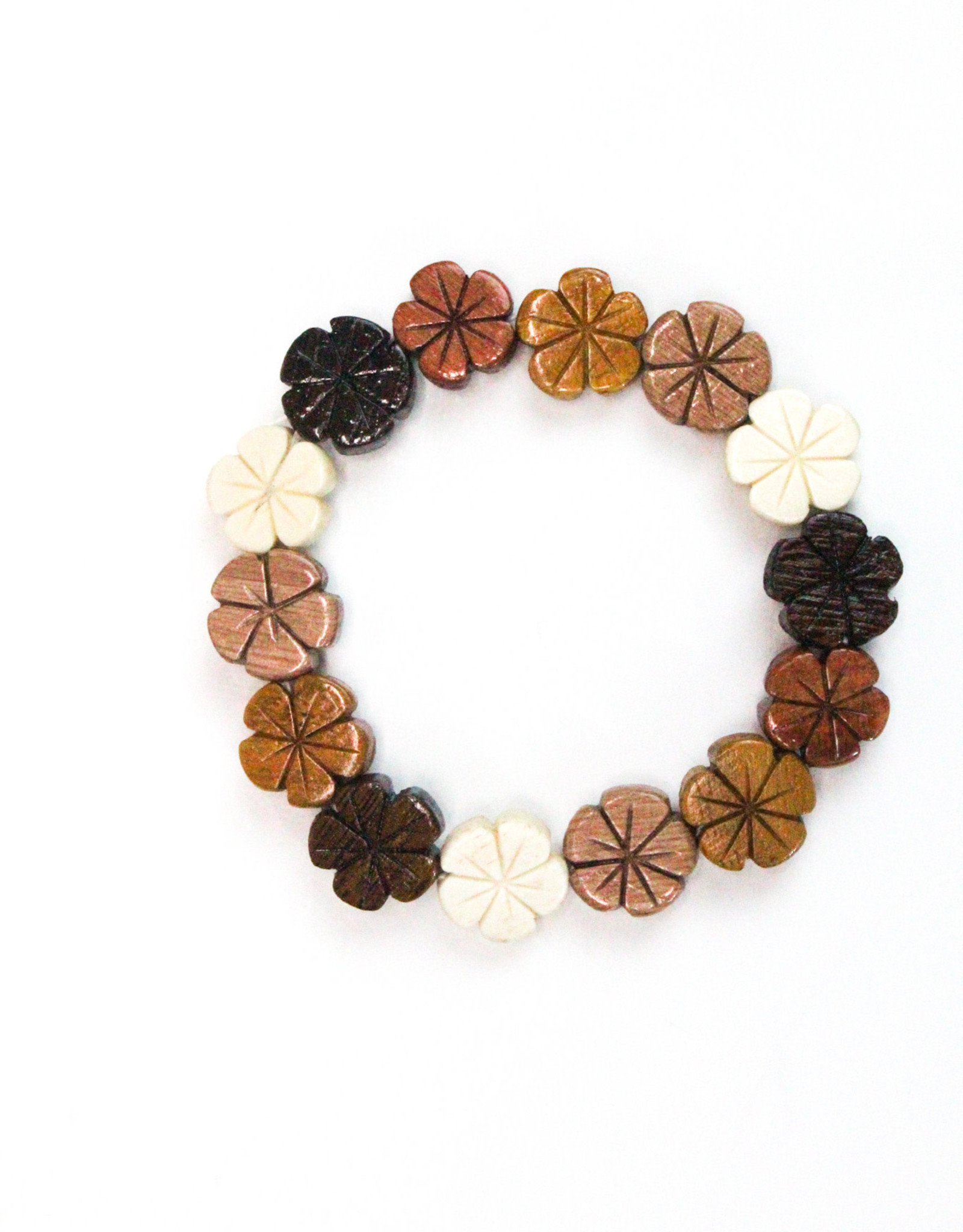 Multi Color Hibiscus Bracelet