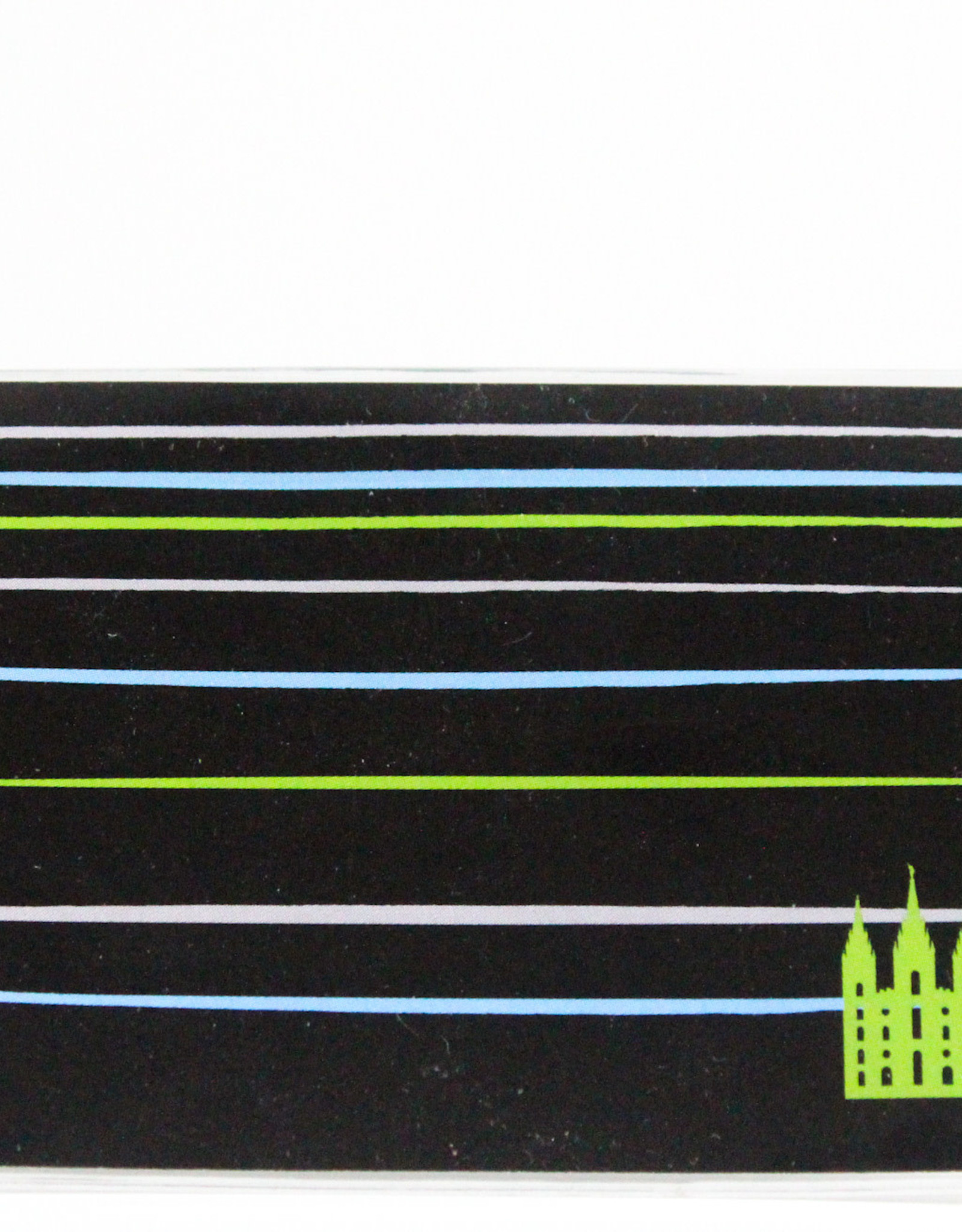 TEMPLE REC HOLDER - YOUTH TEMPLE STRIPE