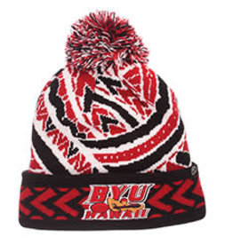 ZEPHYR Zephyr BYU-Hawaii Kulua Seasiders Red Beanie