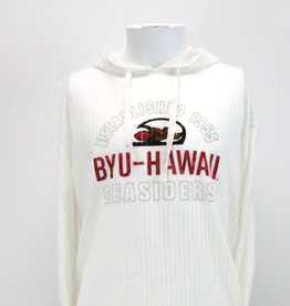 Blue 84 Clearance - BYU-Hawaii Seasiders Ribbed Hoodie