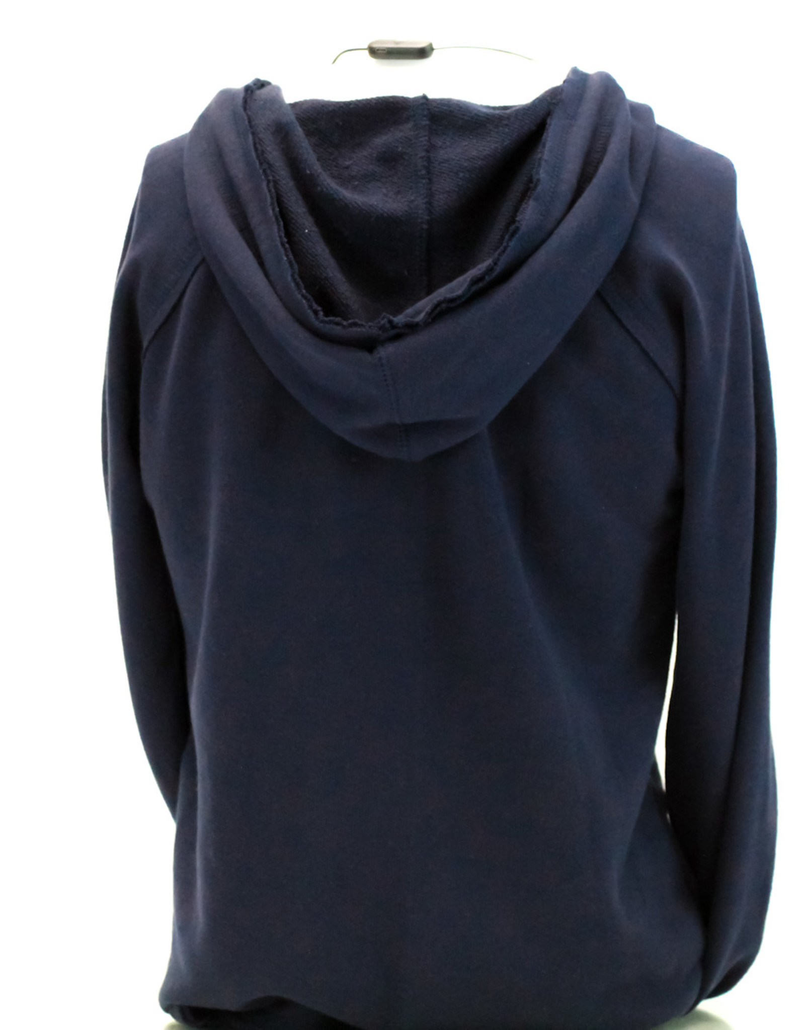 FRENCH TERRY V-NECK HOODIE