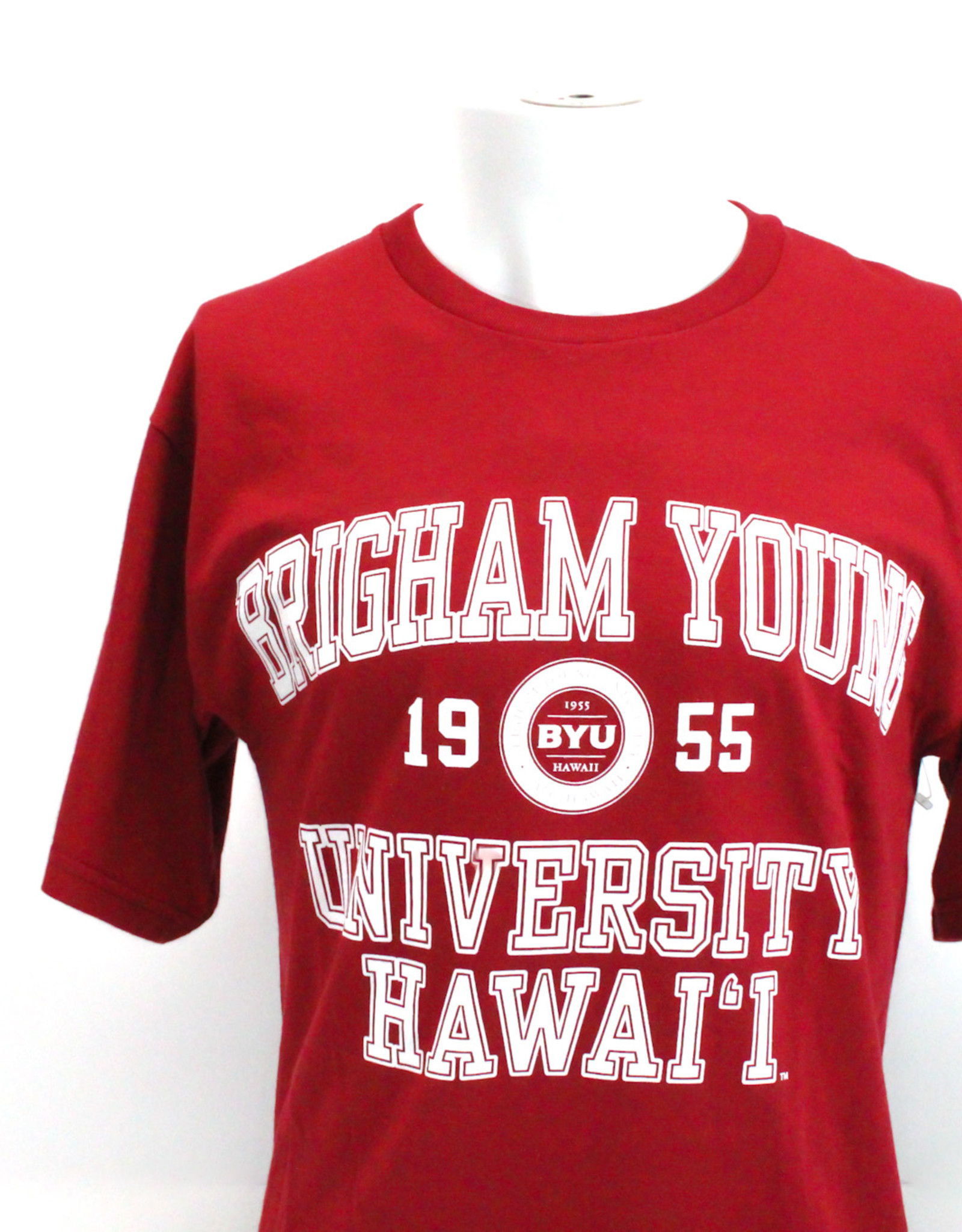 BYU-Hawaii Logo Small Seal Tamarac Tee
