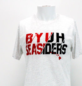 BYUH Seasiders Cotton Tee with HI Islands