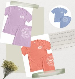 Blue 84 BYU-H Logo Ringspun Tee