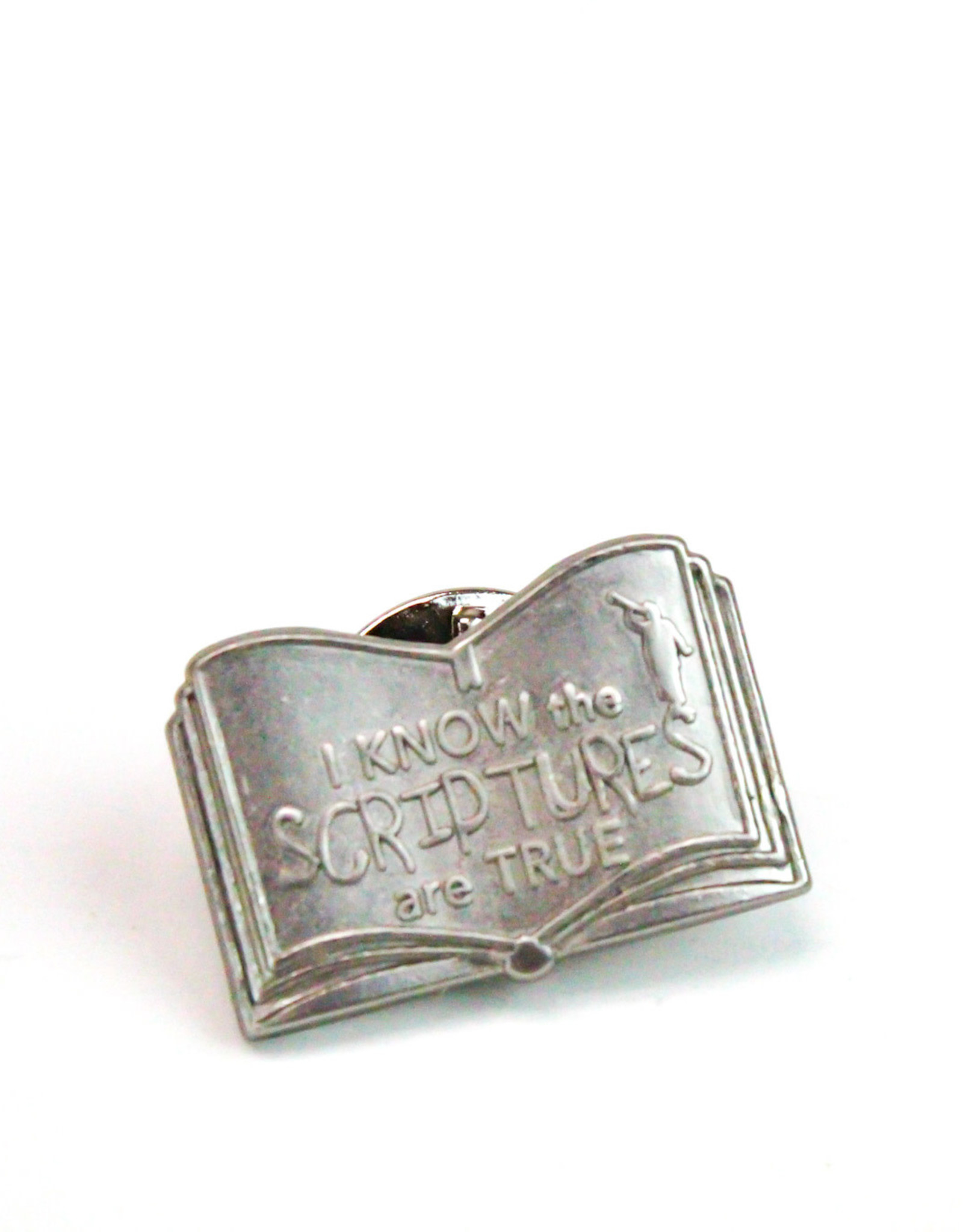 I KNOW THE SCRIPTURES ARE TRUE TIE TACK