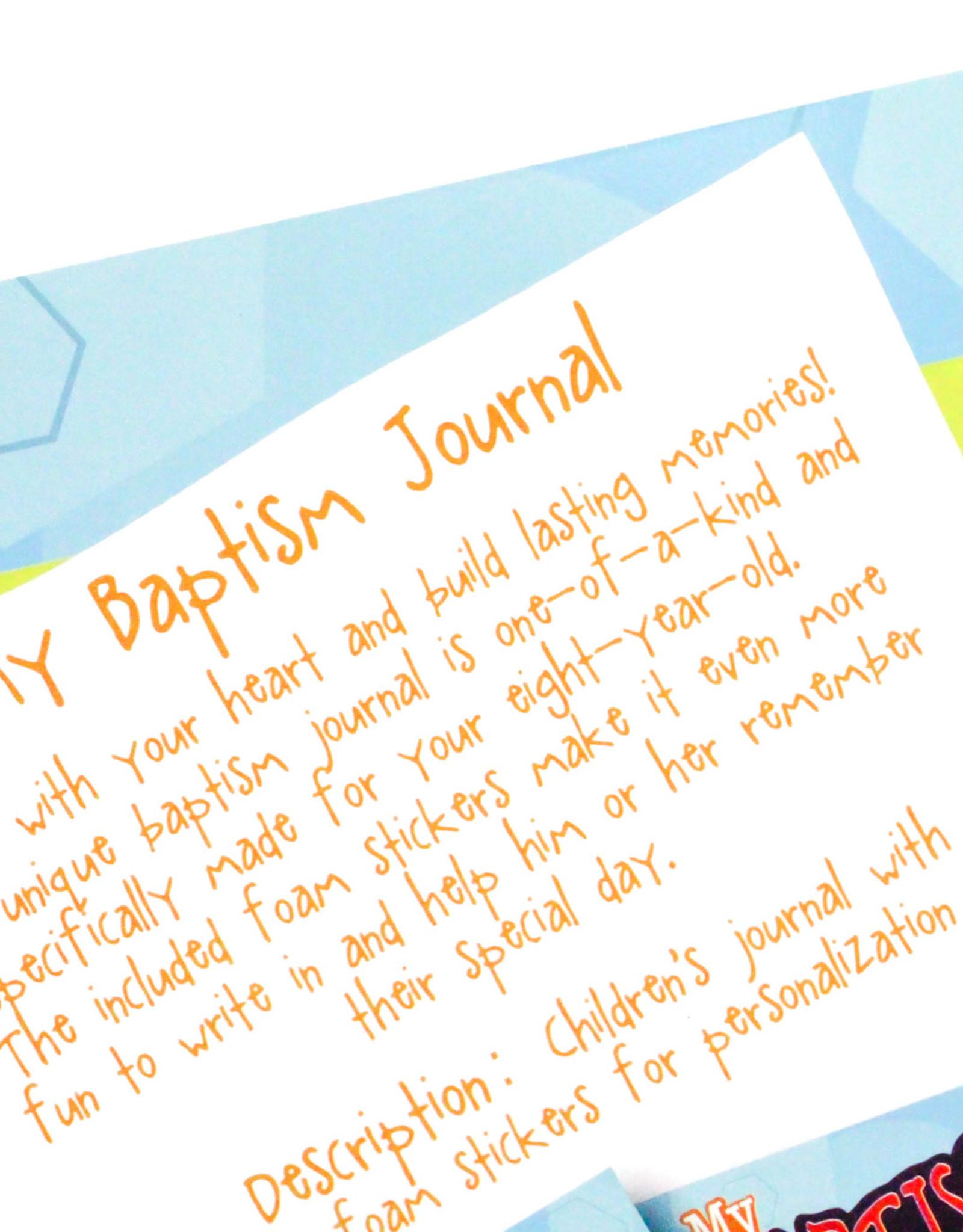 My Baptism Journal