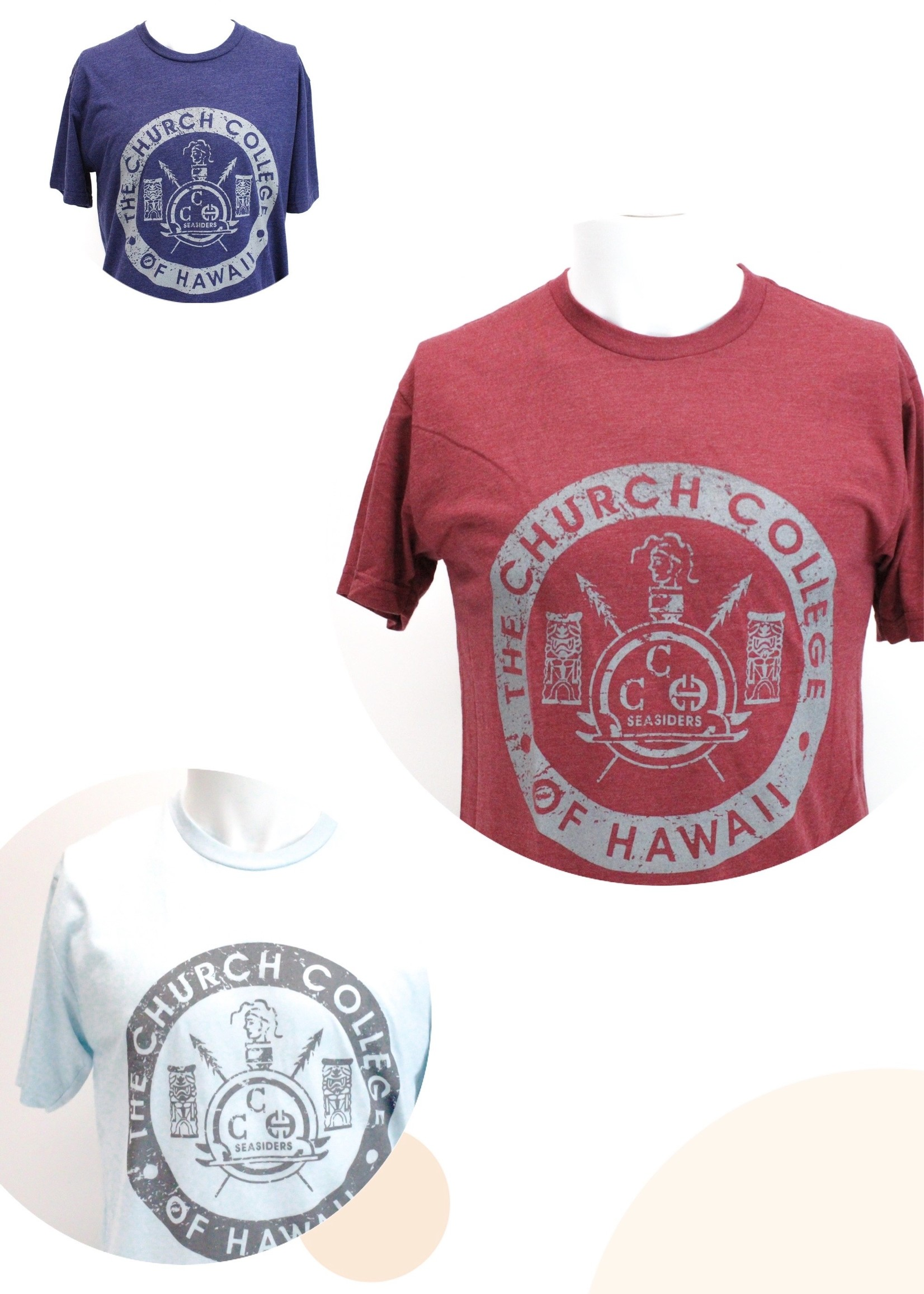 CCH Church College of Hawaii Tee