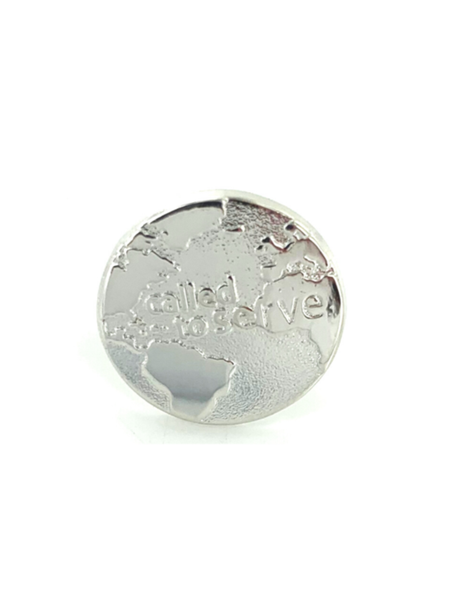 Called To Serve Tie Tack (Globe)