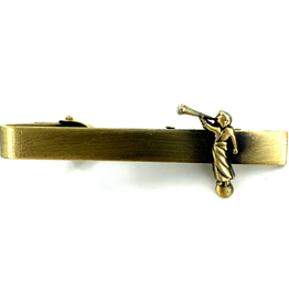 Tie Bar Angel Moroni Gold