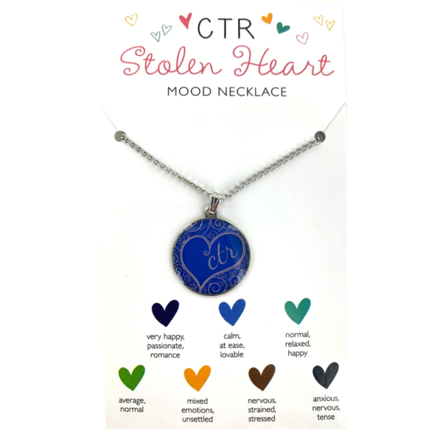 CTR Mood Heart Necklace Stolen Heart