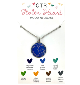 CTR Mood Heart Necklace Stolen Heart