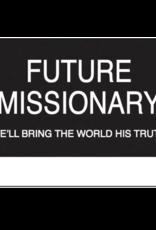 Future Missionary Slip-on Badge