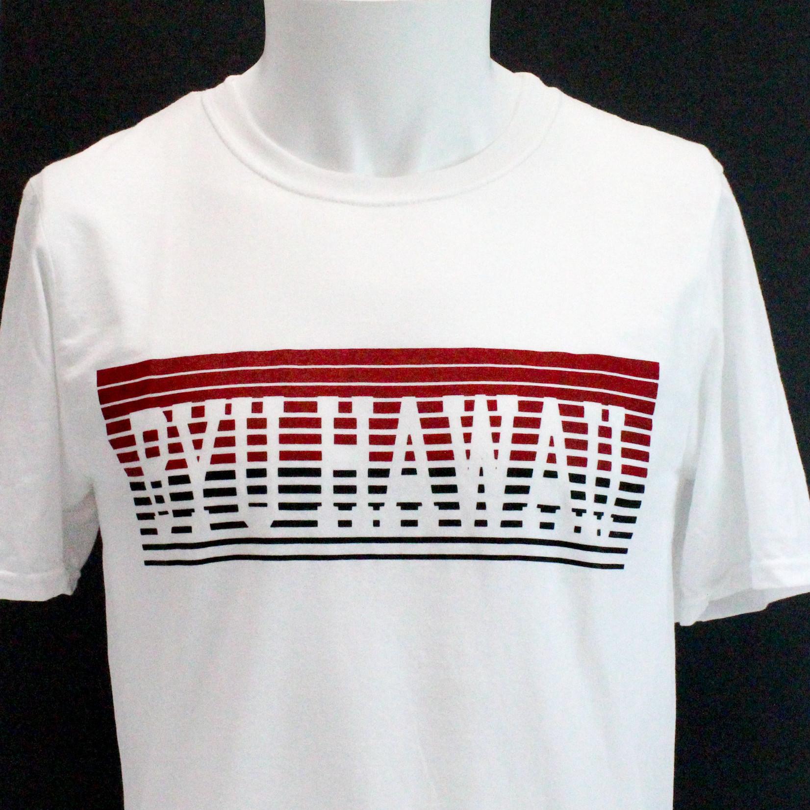 CLR BYU-Hawaii Short Sleeved Blend Tee w/ Retro Stripes