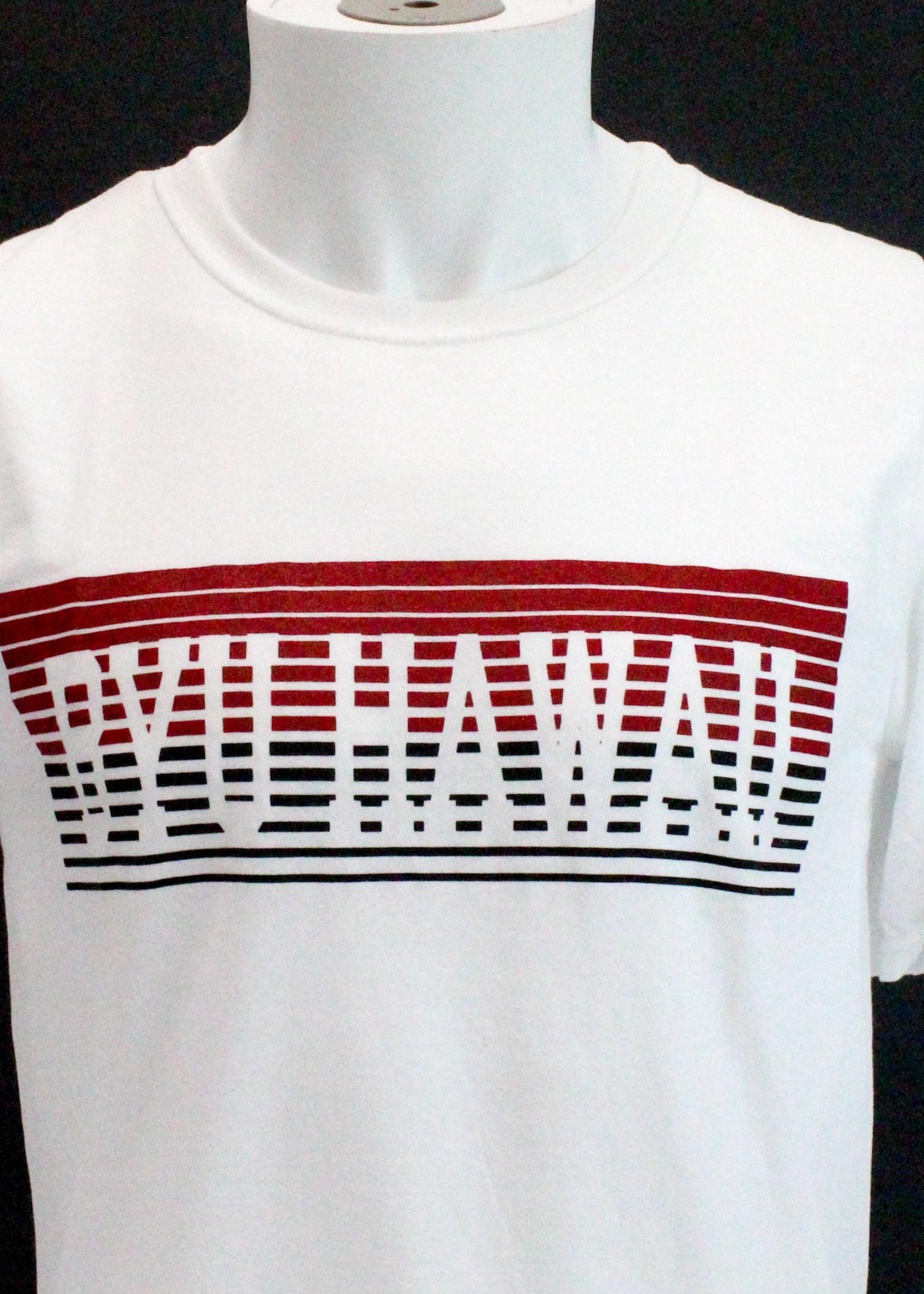 BYU-Hawaii Short Sleeved Blend Tee w/ Retro Stripes