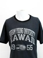 BYU-Hawaii Short Sleeved Ringer Tee