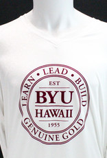 Clearance - BYUH Logo Ultimate Ladies V-neck Long-sleeve