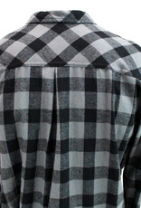 Clearance - BYUH Ladies Flannel Button Down Shirt