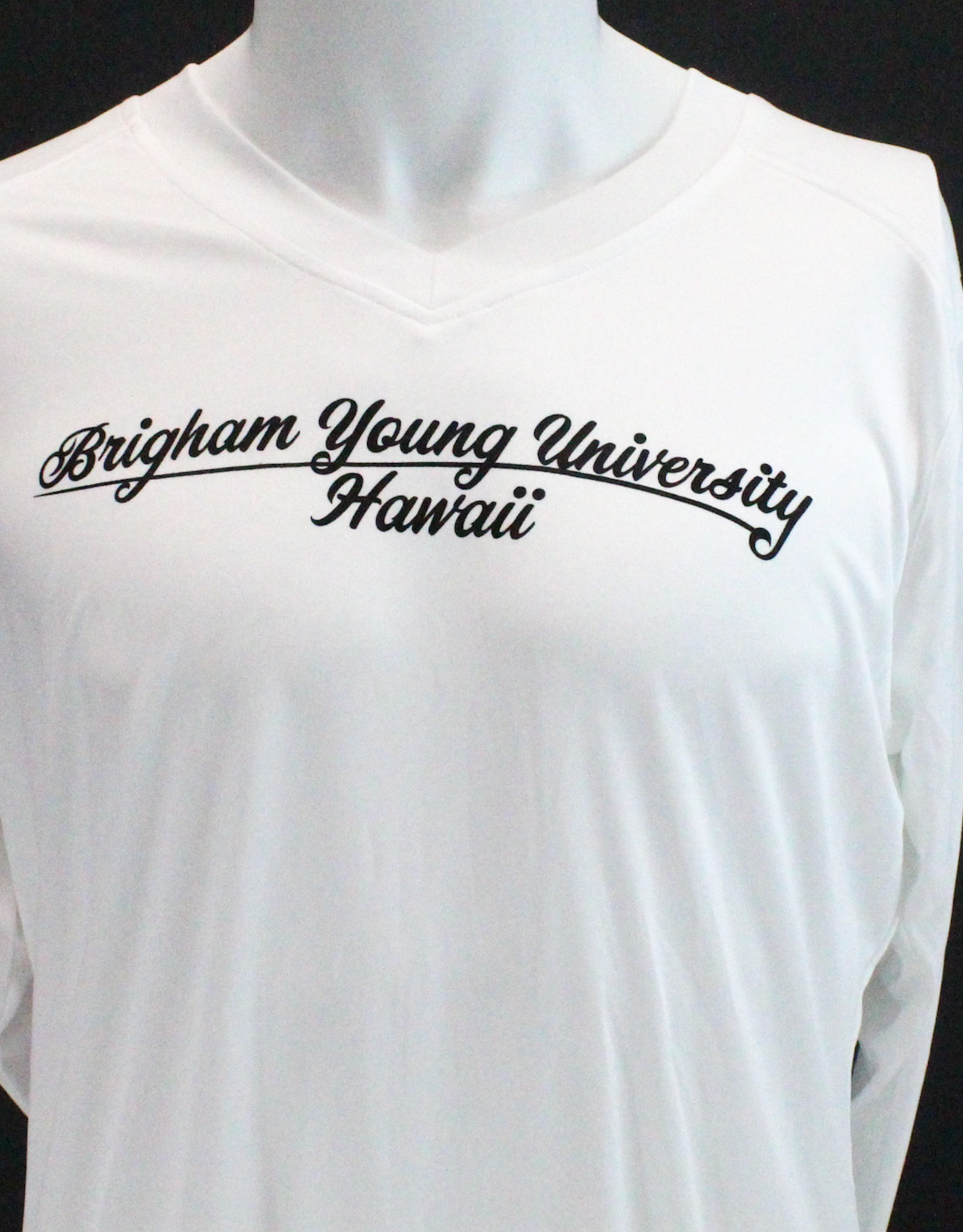 Cursive BYUH ultimate ladies fitted volleyball L/S