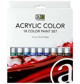 Art Advantage Paint Set Acrylic .41oz 18 color