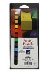 Pro Art Artist Pastels Square 12pc Basic Colors