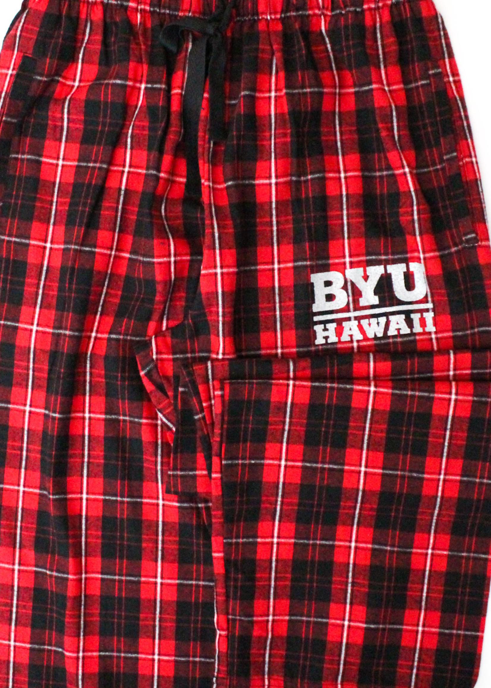 Clearance - BYU-Hawaii Flannel Plaid Pants