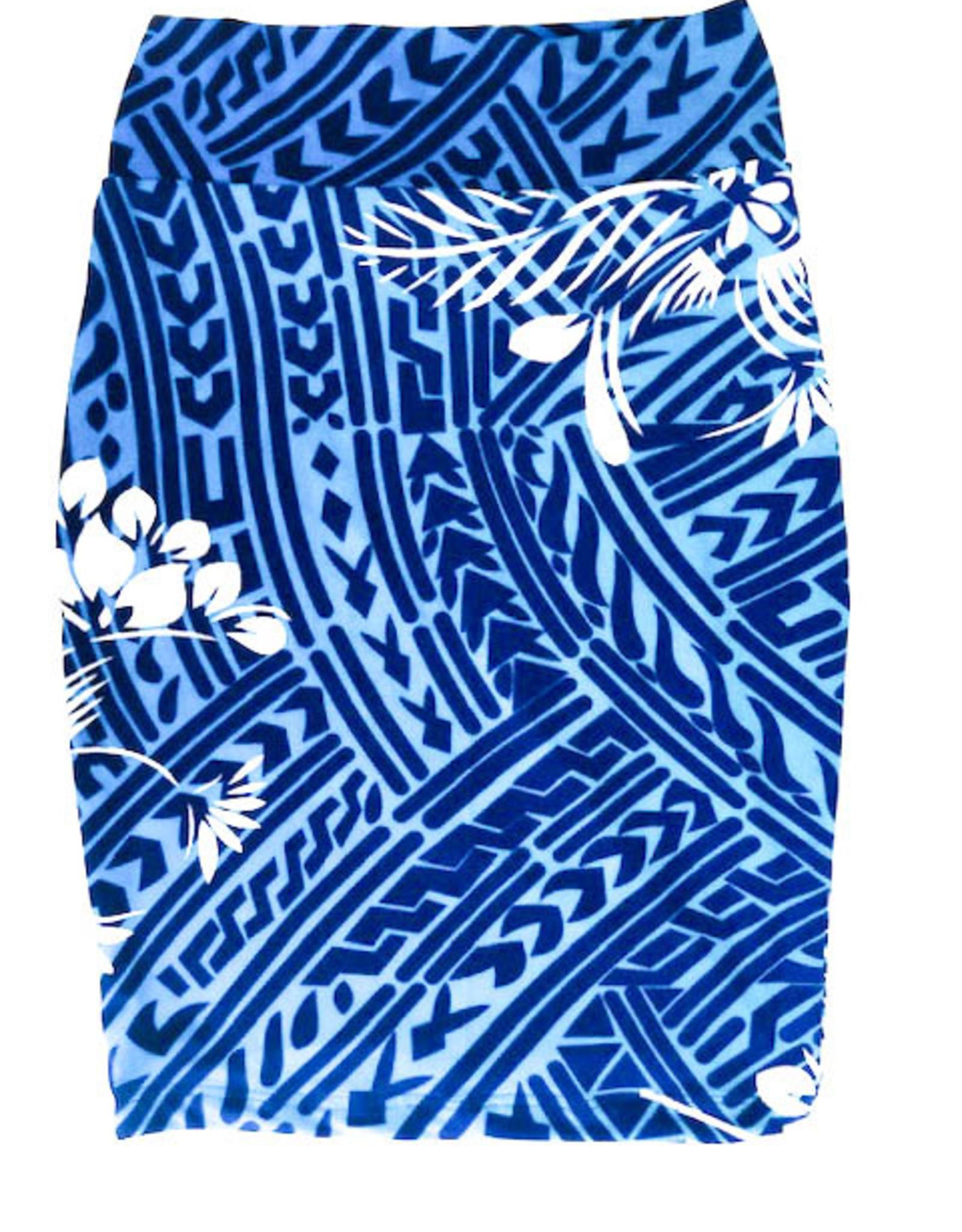 Short Stretch Pencil Skirt