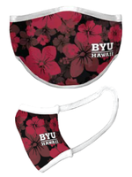 Face Mask - BYU Hawaii Floral