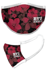 Face Mask - BYU Hawaii FLORAL -