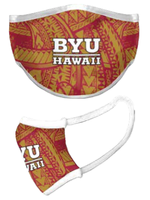 Face Mask - BYU Hawaii Tribal