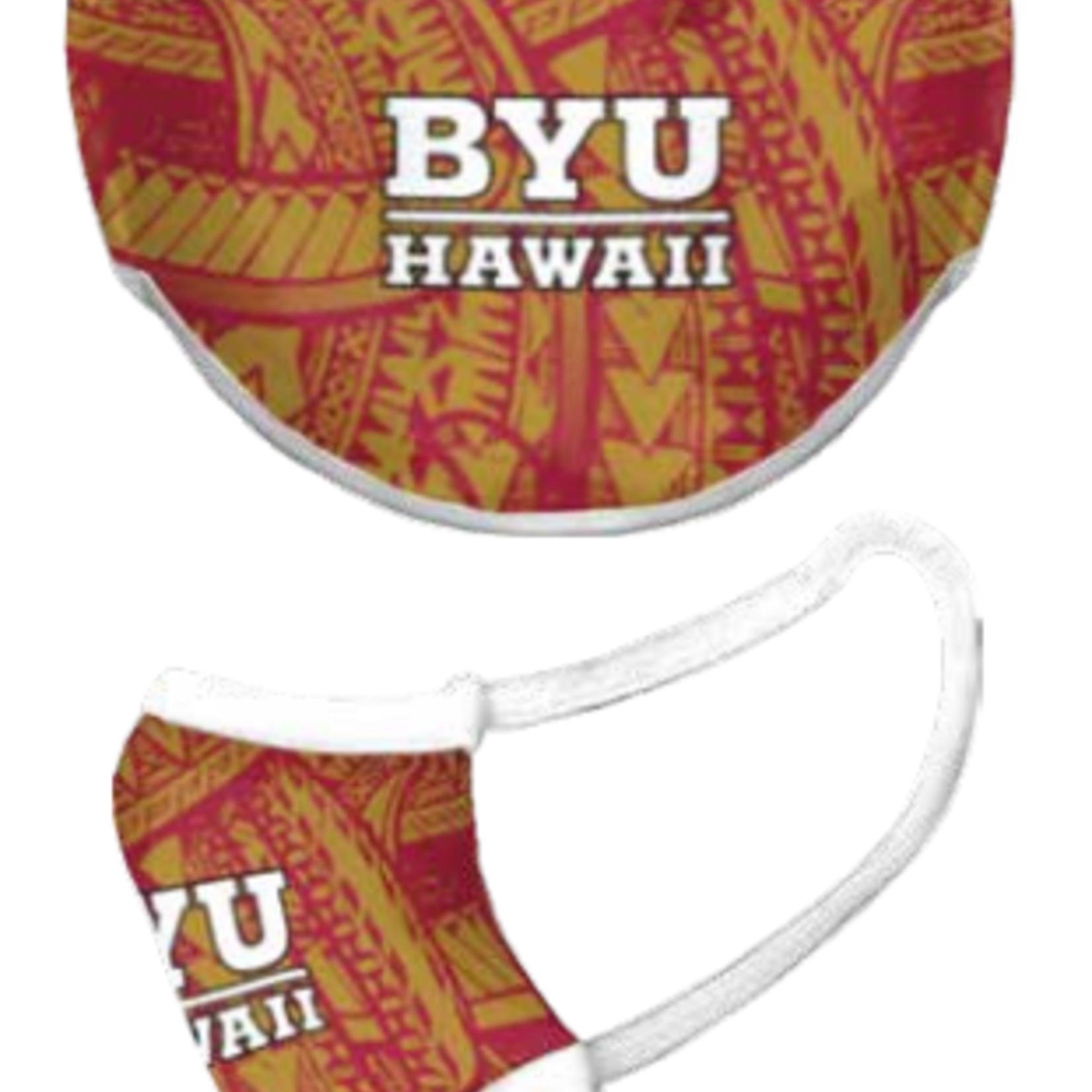 Face Mask - BYU Hawaii Tribal