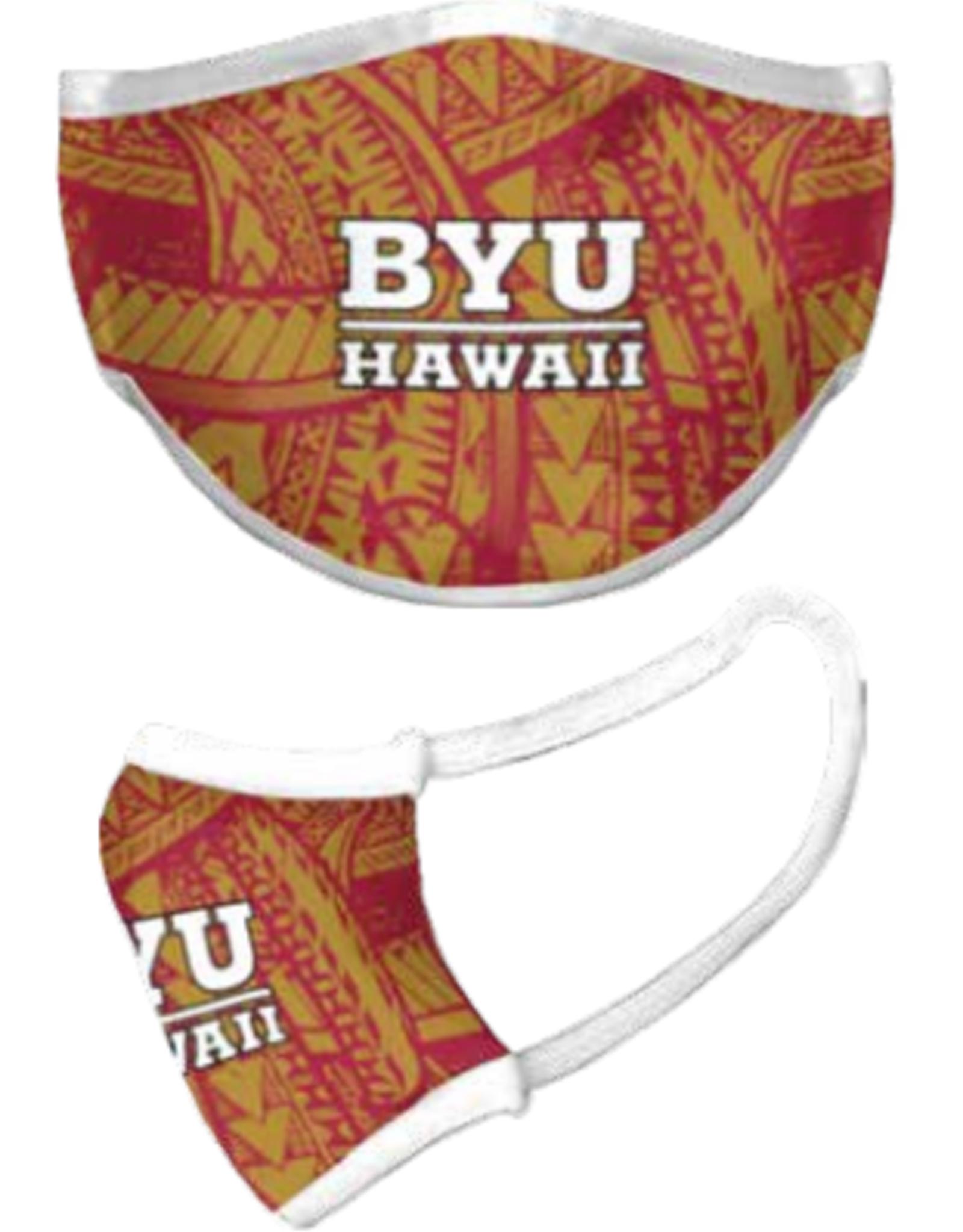 Face Mask - BYU Hawaii TRIBAL -