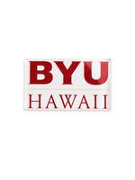 BYU-HAWAII LOGO MAGNET (white)