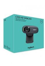 Logitech C310 HD Webcam Black 720p