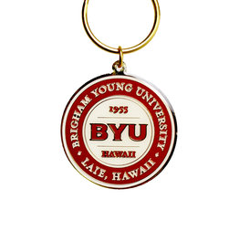 R&D BYU HAWAII BATTALION METAL KEYTAG SEAL