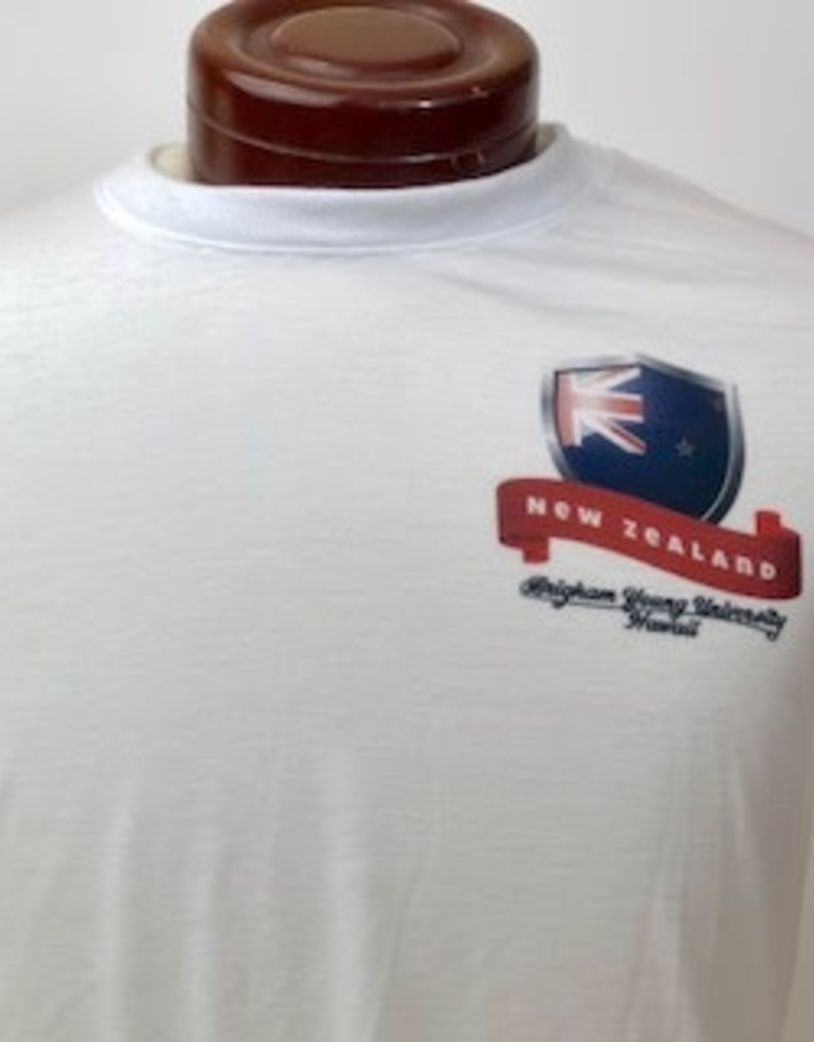 BYUH PRINT SERVICES Clearance - White Flag Shirt