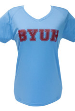 Clearance - BYUH Ultimate Ladies V-Neck Logo Shirt