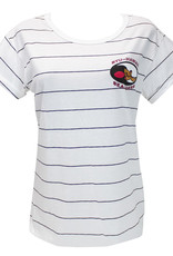 Clearance - BYUH Seasiders Nora Striped White Shirt L