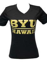 Clearance - BYUH Gold Ladies Logo Shirt