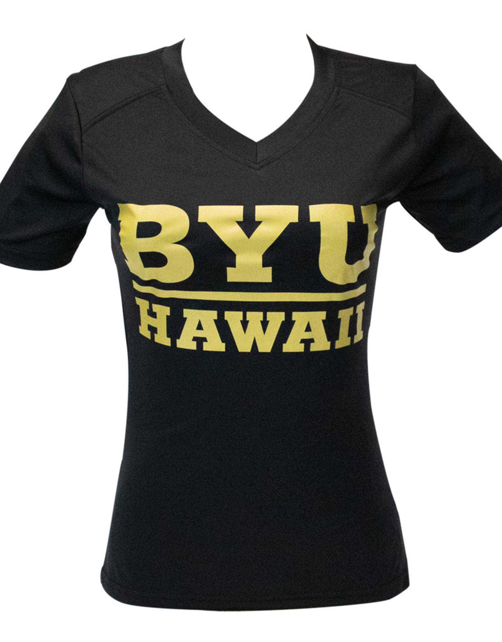 Clearance - BYUH Gold Ladies Logo Shirt