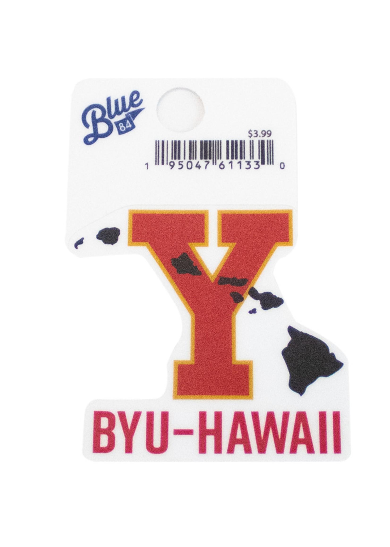 Blue 84 Y With Islands Mini Sticker