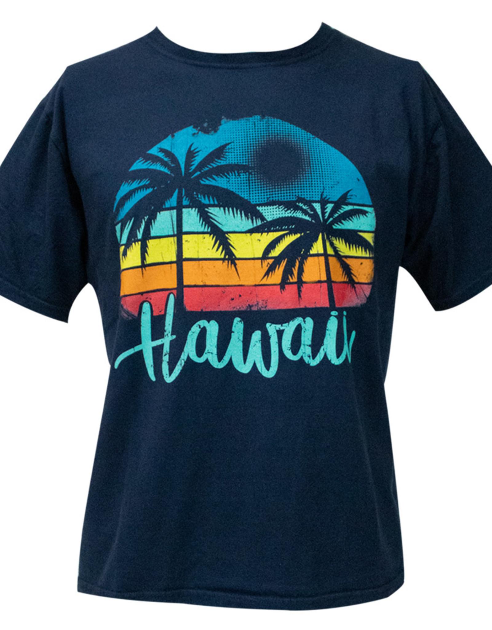 Clearance - Hawaii Palm Tree Dyed Tee