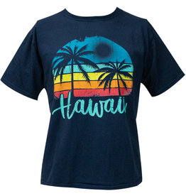 Clearance - Hawaii Palm Tree Dyed Tee