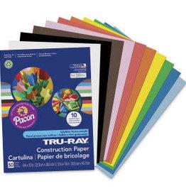 Tru-Ray Construction Paper - 50 Sheets 9X12
