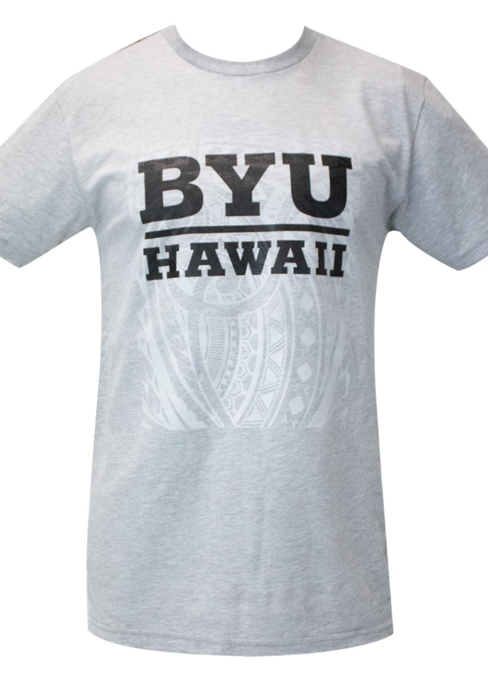 BYUH PRINT SERVICES BYU-Hawaii Tribal Shirt