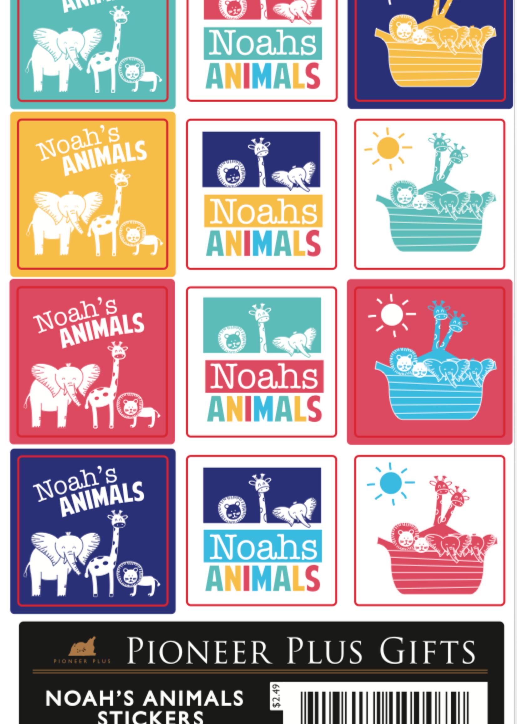 Noah's Animal Stickers