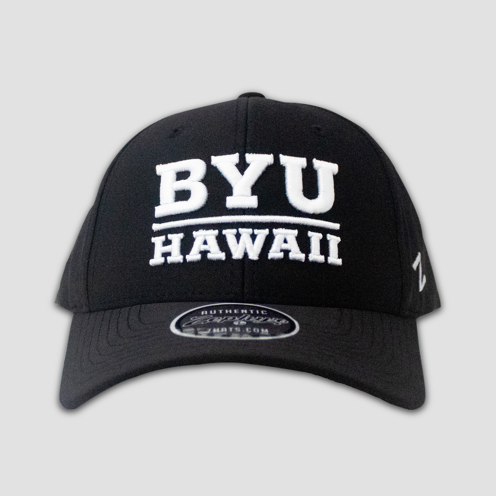 ZEPHYR BYU-Hawaii Revelstoke Black Snapback
