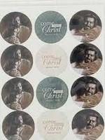 Come Unto Christ Stickers - Bowman Art